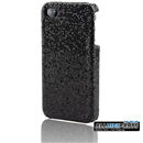 NEW Black BLING SHINING Case Skin Cover FOR IPHONE 4 4G 4S