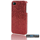 New Red Bling Shining Case Skin Cover for iPhone 4 4G 4S