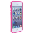 Pink Clear Bumper Frame TPU Silicone Soft Case Cover for the New iPhone 5G 5th Gen