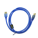 6FT 1.8M USB 3.0 A Male to Female SuperSpeed Extension Cable Blue with Magnet Ring