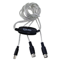 USB To MIDI Cable Converter PC to Music Keyboard Adapter