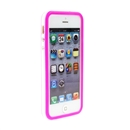 Pink White Bumper Frame TPU Silicone Soft Case Cover for the New iPhone 5G 5 iPhone5