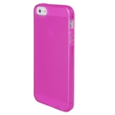 Clear Frost Pink Skin Gel TPU Soft Rubber Case Cover for Apple iPhone 5 5G 5th Gen