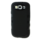 Black Antiskid Silicone Soft Case Cover for Samsung Galaxy S3 i9300