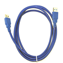 6FT 1.8M USB 3.0 A Male to Male SuperSpeed Extension Cable Blue