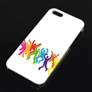 Peple People Painting Design Colorful Hard Case Cover for Apple iPhone 5 5G 5th Gen
