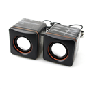 3D Sound 2 Channel USB  Speaker System for PC Laptop Notebook Compueter MP3/MP4
