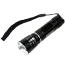 Zoomable Q5 Led 3Mode Adjustable focus Flashlight