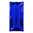 Blue Durable Metal Aluminum Bumper Case Cover Non Element Blade for Apple iPhone 5 5G 5th Gen
