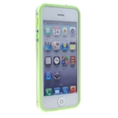 Green Clear Bumper Frame TPU Silicone Soft Case Cover for the New iPhone 5G 5th Gen