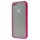Hot Style Red Bumper Skin Case With Frosted Clear Back Cover For iPhone 5 iPhone5 New