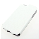 White Anti-skid Stripe Leather Flip Snap-On Case Cover for Apple iPhone 5 5G 5th Gen