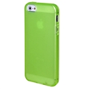 Clear Frost Green Skin Gel TPU Soft Rubber Case Cover for Apple iPhone 5 5G 5th Gen
