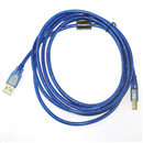 6FT 1.8M USB 2.0 A Male to B Male High Speed Printer Extension Cable Blue