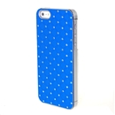 Blue Dazzling Diamond Hard Executive Case Cover for Apple iPhone 5 5G 5th Gen