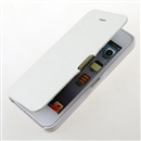 White Open Style Leather Cover Case for Apple iPhone 5 5G iPhone5 New