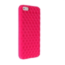 Hot Pink Wave Back Soft Silicon Case Cover for Apple iPhone 5 5G New