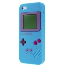 Light Blue Nintendo Game Boy Silicone SOFT Case for Apple iPhone 5 5G Gen
