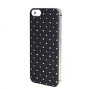Black Dazzling Diamond Hard Executive Case Cover for Apple iPhone 5 5G 5th Gen