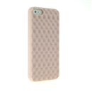 Light Pink Wave Back Soft Silicon Case Cover for Apple iPhone 5 5G New