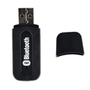 2.0 USB Bluetooth 3.5mm Stereo Audio Music Receiver Adapter for cellphone black