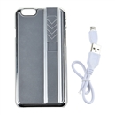 Cigarette Lighter Smoking Fitted  case for iphone 6 silver