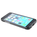 Metal Aluminum Bumper Frame + Acrylic Back Cover Case for iphone6 4.7 black