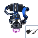 2000 Lumen XM-L T6 Focus LED Headlamp Headlight Head Torch Lamp + Charger