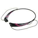 Black and purple Wireless Bluetooth 4.0 Headset Sports Stereo Headphone For iPhone Samsung LG