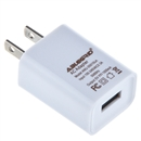 White USB 5V 1A Wall AC DC Home House Charging Charger Wall Power Adapter 5 Volt