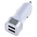 Mini Bullet Dual USB 2-Port Car Charger Adaptor for iPhone Samsung HTC