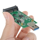 USB 3.0 to Mini PCIE mSATA SSD mSATA to USB 3.0 SSD do not need USB cable