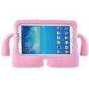 Foam Shockproof Cartoon Kids Tablet Cover Case for 7 Inch Samsung Galaxy Tab3  Pink