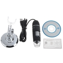 New 50-500X 2MP USB 8 LED Light Digital Microscope Endoscope Camera Magnifier