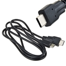 USB 3.1 Type C Male Connector to Micro USB 2.0 Male Data