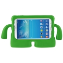 Foam Shockproof Cartoon Kids Tablet Cover Case for 7 Inch Samsung Galaxy Tab3 Green